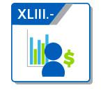 XLIII Ingresos