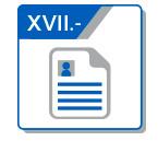 XVII Curricula de Funcionarios