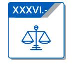 XXXVI Solución de Procesos en Juicio